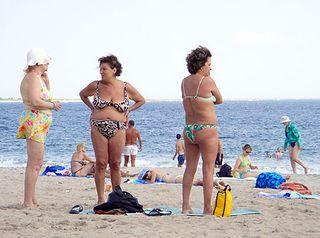 Brighton Beach bathers