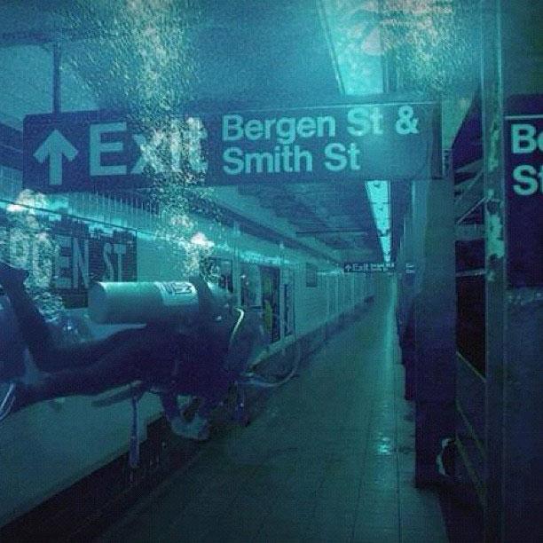 Flooded-subway