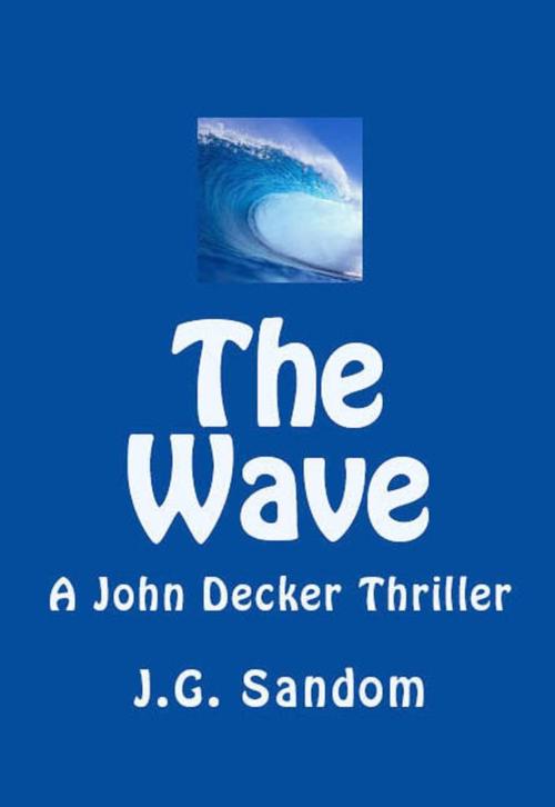 THE WAVE - A John Decker Thriller ~ Front Cover Nook