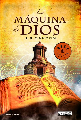 La Maquina de Dios Softcover Cover (with Bestseller)