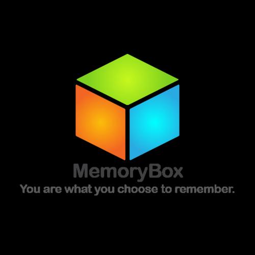 MemoryBox Logo with Transparent Background, Ver. 3.0 ~ Final